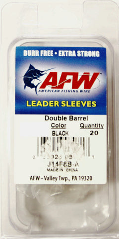 AFW Double Barrel Fishing Leader Sleeve 2.94mm (20pcs)