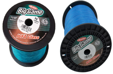 Berkley Big Game IGFA Monofilament Line -15kg 1200m Electric Blue