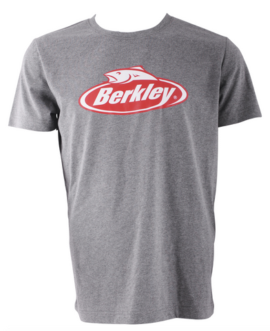 Berkley Grey Pro Fishing T Shirt - Size Large