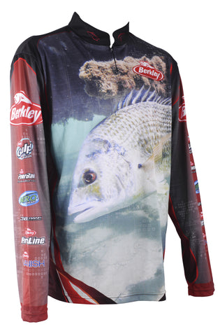 Berkley Pro SPF 30+ Tournament Fishing Shirt BREAM size 2XL
