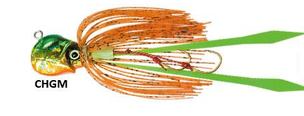 Duel Salty Rubber Octo Jig Micro Jigging Lure - Colour CHGM, 40 gram