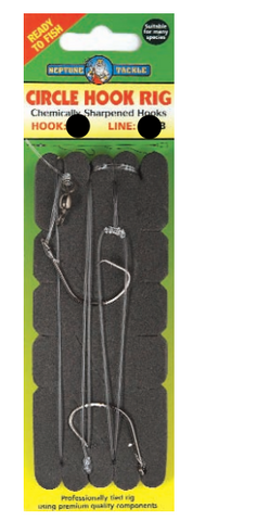 Neptune Tackle Circle Hook Rig - Size 8/0 CHR80