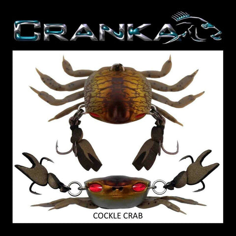 Cranka Crab Lure 50mm Heavy 5.9 gram - Cockle Crab