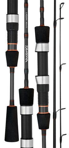 "Daiwa Laguna C Spin Fishing Rod - 702-LXS 7'0"" 1-4kg 2 Piece"