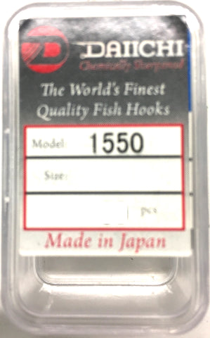 Daiichi 1550 Fishing Hook - Value Pack Size 12, 30 Pieces