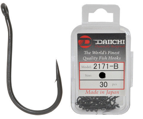 Daiichi 2171-B Hook Value Pack - Size 12, 30 Pieces