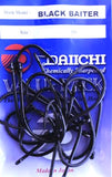 Daiichi Black Baiter Hook Value Pack - Size 1 , 25 Pieces