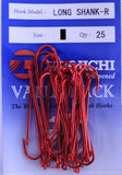 Daiichi Long Shank-R Hook Value Pack - Size 6, 25 Pieces