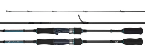 "Daiwa Emeraldas AGS 83ML Squid Egi Fishing Rod 8'3"" 2 Piece, Jig Size 1.8-3.5"