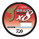 Daiwa J Braid Grand Braided Line 80lb 3000yd Bulk - Island Blue