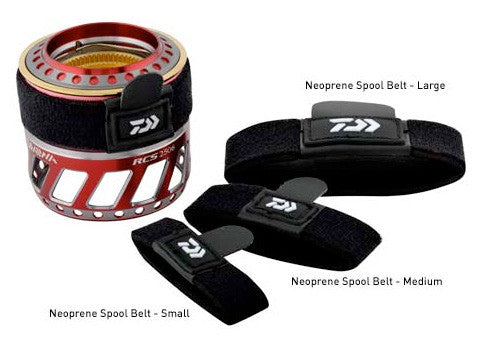 Daiwa Fishing Reel Neoprene D' Spool Belt - 52095 Large DSBL