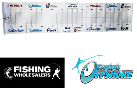 Frogleys Atomic Gamakatsu Offshore Fishing Brag Mat
