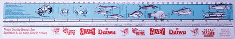 Fish Measure Sticker Ruler - Small 46cm