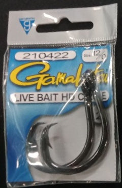 Gamakatsu Live Bait HD Circle Hook - Size 12/0 2 Pieces