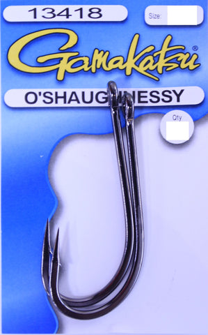 Gamakatsu O'Shaughnessy Hook - Size 9/0, 2 Pieces