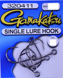 Gamakatsu Single Lure Hook - Size 2/0, 6 Pieces