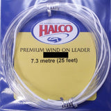 Halco Fishing Premium Wind On Leader - 60lb 15ft