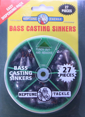 Neptune Tackle Bass Casting Sinkers BASS