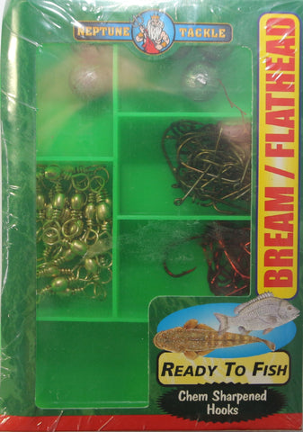 Neptune Tackle Fishing Tackle Packs -  Bream & Flathead