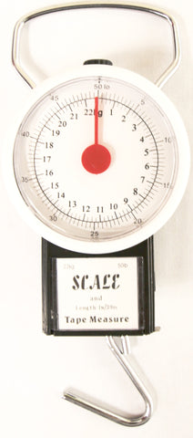 Neptune Tackle Clock Face Scale & Measure