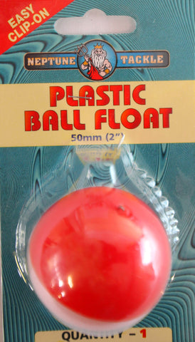 Neptune Tackle Plastic Ball Float