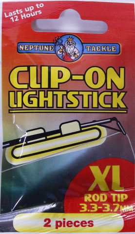 Neptune Tackle Clip On Fishing Light stick - Size XL COLXL
