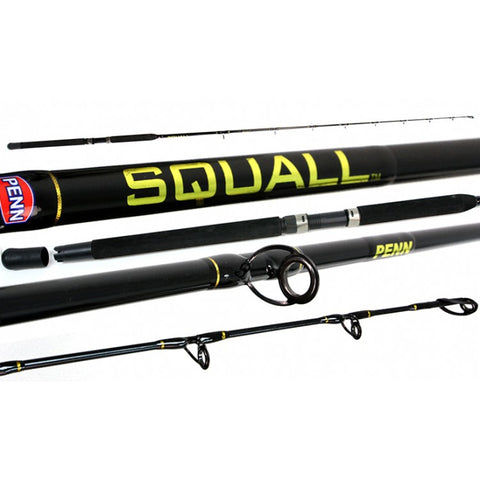 "Penn Squall Overhead Rod - Model PSQ661LM 6'6"" 6-10kg, 1 Piece"