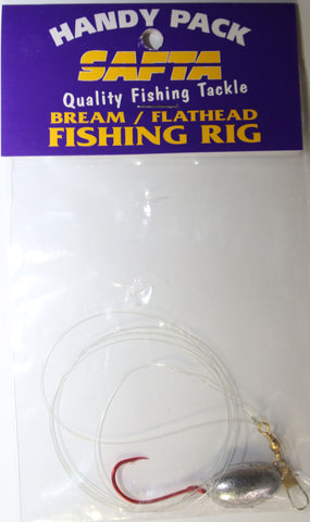SAFTA Bream/Flathead Fishing Rig