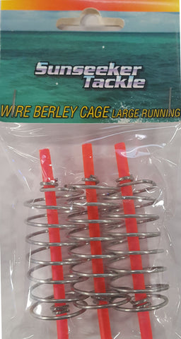 Sunseeker Wire Berley Cage - Large Running