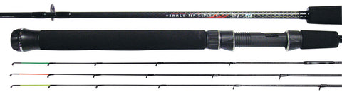 "Tica Nible Tip Extreme Spin Rod - 7'6"" 4-8lb, 2 Piece + 3 Interchangable tips"