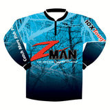 Zman Soft Plastics UPF 45 Tournament Fishing Shirt - Size 2XL