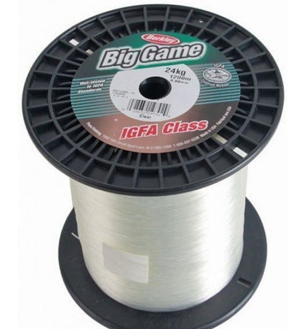 Berkley Big Game IGFA Monofilament Line -15kg 1200m Clear