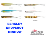 "Berkley Powerbait 3"" Dropshot Minnow Soft Plastic - Colour Ayu"