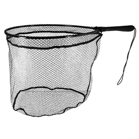 Black Magic Short Handle Fishing Landing Net