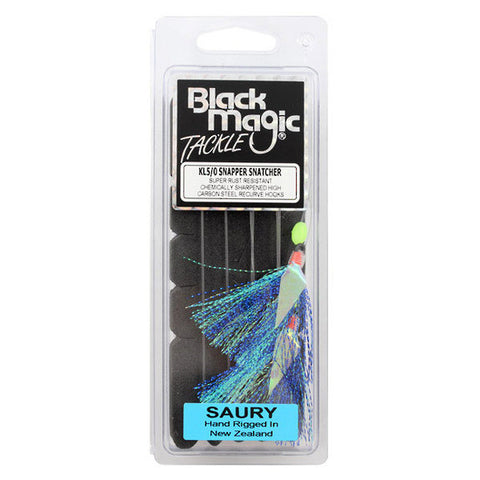 Black Magic Snapper Snatcher Rig -  Colour Saury 5/0 Hook