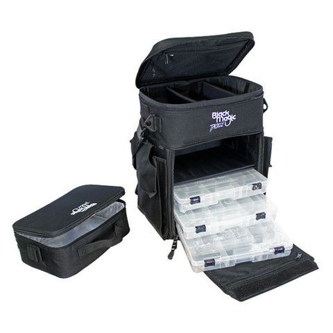 Black Magic Back Pack Fishing Tackle Bag