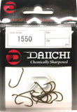 Daiichi 1550 Fishing Hook - Pocket Pack Size 8, 10 Pieces