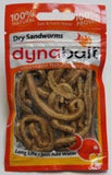 Dynabait Freeze Dried Sandworms