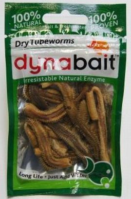 Dynabait Freeze Dried Tubeworms