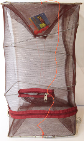 Collapsable Shrimp Bait Trap Cage
