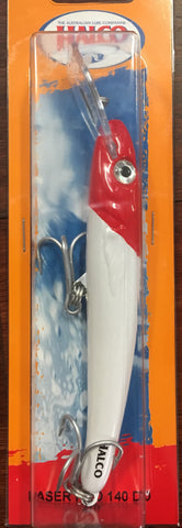 Halco Laser Pro 140DD Lure - Colour H53 Red Head