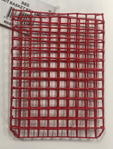 Sunseeker Red Wire Fishing Bait Basket Cage Envelope - Standard