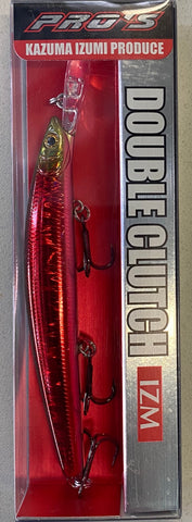 Daiwa Double Clutch 95 Hardbody Lure - Lazer Red  DA-100