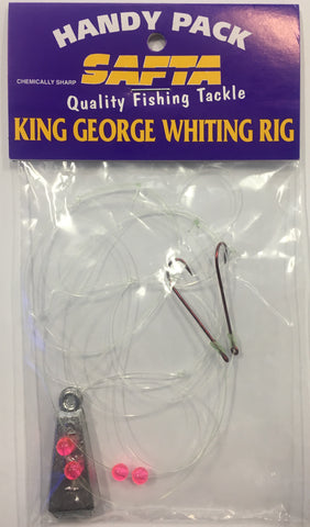 SAFTA King George Whiting Rig Chemically Sharpened