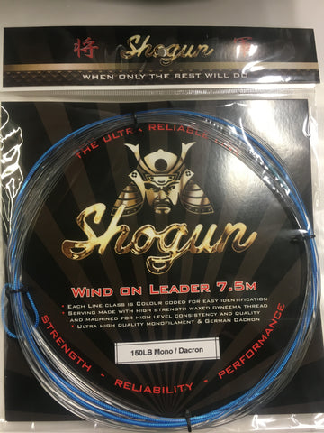 Shogun Wind On Leader 150lb - 7.5 metre