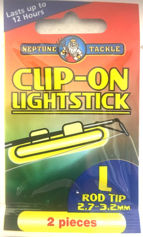 Neptune Tackle Clip On Fishing Light stick - Size Large COLL