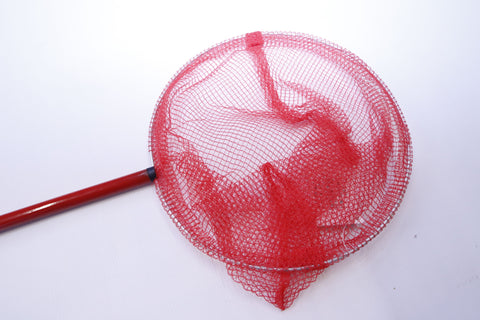 Red Metal Bait Dab Net LN11