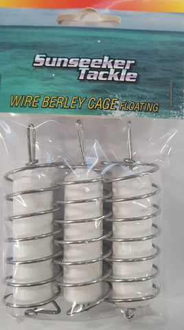 Sunseeker Wire Berley Cage - Floating