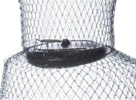 Neptune Wire Fish Keeper Basket Net With Float Lid WKBF