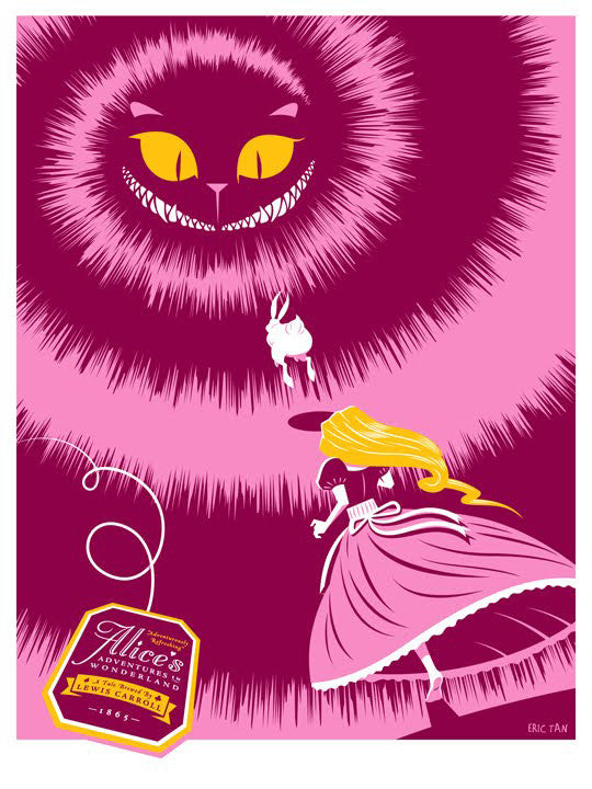 Alice's Adventures in Wonderland by Eric Tan - Pink Edition